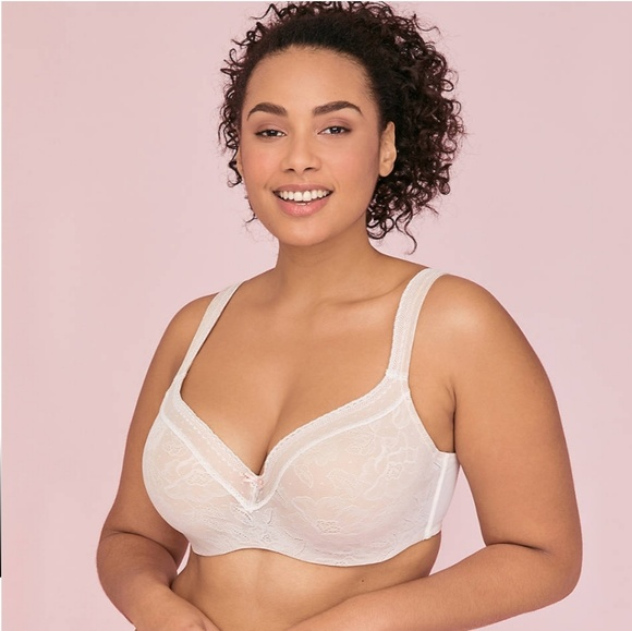 Cacique Other - Modern Lace Balconette Bra 38G